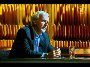 Видео: Джеймс Кэмерон (James Francis Cameron) в гостях у Vladimir Pozner