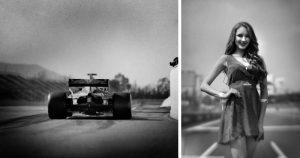 Фотограф снял «Формулу-1» на столетнюю камеру (Всего 18 фото)