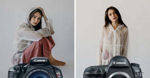 Профессиональные фотографы посоревновались с любителем в съемке одной и той же модели, имея разное оборудование.