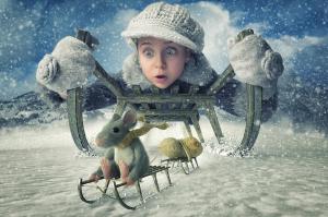 32 Фото: «Дорогая, я отфотошопил детей»: проект изобретательного отца-фотографа