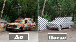 Фото: Уличные художники из России удалили старый автомобиль «Москвич»
