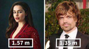 А знаете ли вы, какой реальный рост у актеров из сериала «Игра престолов»?