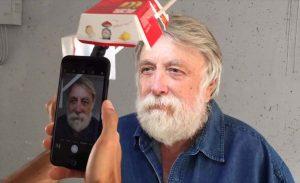 Фотограф сделал портреты, используя коробку из-под Биг-Мака и iPhone.