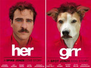 Когда во всех постерах фильмов твоя собака