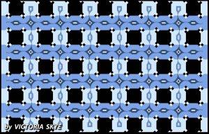 Эта оптическая иллюзия может заставить вас видеть параллельные линии наклонными