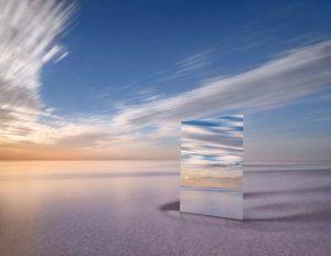 Фото: Зеркальные пейзажи озер созданные Мюрреем Фредериксом