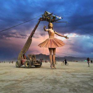 Телепортируемся на тусовку «Burning Man 2017».