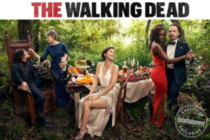 Звезды «Ходячих мертвецов» на обложках Entertainment Weekly