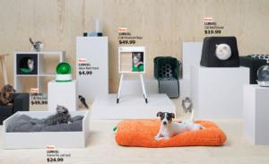 IKEA выпустила коллекцию мебели для хозяев животных