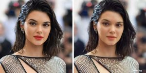 Чувак сделал приложуху, которая удаляет макияж с лиц знаменитостей!