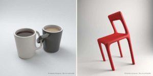 Дизайнер создает красивые дизайны бесполезных вещей