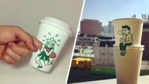 Художник из Южной Кореи превращает стаканы Starbucks в произведения искусства.