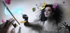 Бразильский художник создает цифровые картины, герои которых готовы спрыгнуть со страницы.