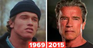 20 знаменитых актеров в одном из первых фильмов и в одном из последних