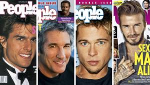 Самые сексуальные мужчины с 1990 года по 2017 год. Согласно журналу People