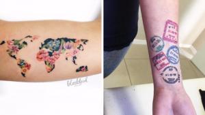 Эти идеи татуировок путешественников обязательно пробудят в вас желание быстро упаковать чемодан, чтобы уехать в очередную поездку.