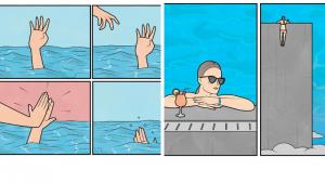 20 комиксов о жизни от Антона Гудима