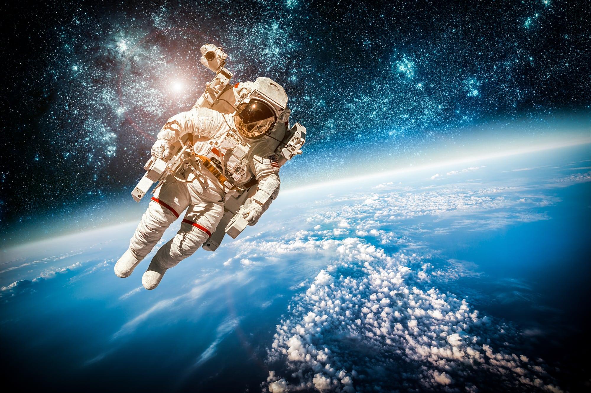 Космос фото человек