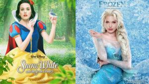 Какие актрисы могли бы стать принцессами в экранизациях диснеевских сказок?