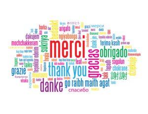 Тест: На каком языке написано слово «спасибо»?