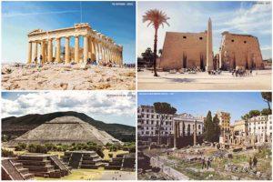 7 оживших руин со всего мира