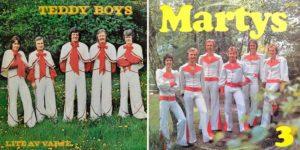 Обложки альбомов шведских групп 1970-х годов.