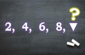 Сможете ли вы продолжить логический ряд?