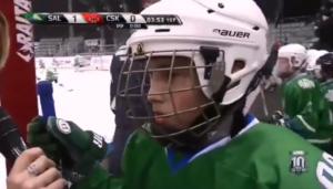 Мгновение славы маленького хоккеиста