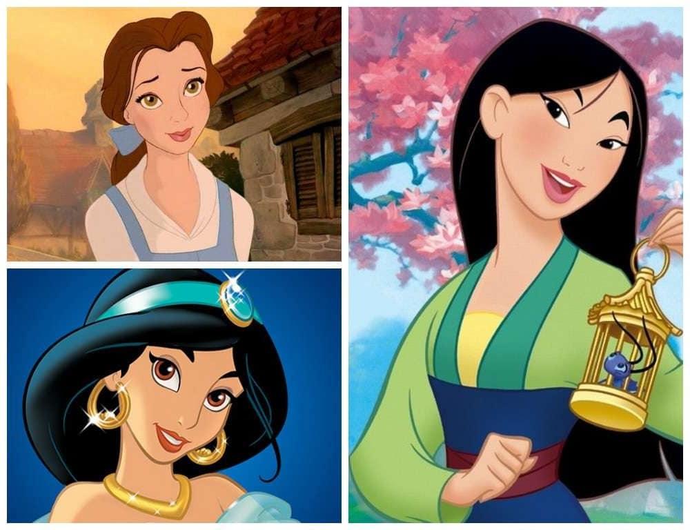 Картинки женских персонажей из мультфильмов