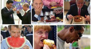 Любимые блюда политиков.
