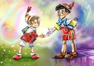 Тест: Найдете 10 различий между Буратино и Пиноккио?