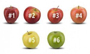 Тест на Характер: Какое Яблоко Вы бы Выбрали?