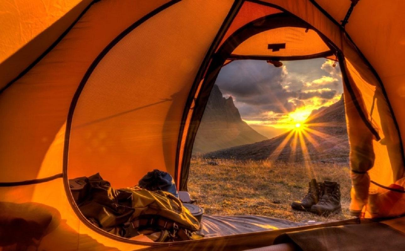ним картинки вид из палатки запросто можно
