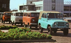 Тест на знание автомобилей УАЗ