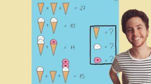 Решите интересную загадку о мороженом