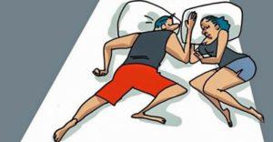 Тест: Ваша поза сна раскроет тайны вашей пары