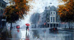 Тест: Угадайте город по дождю