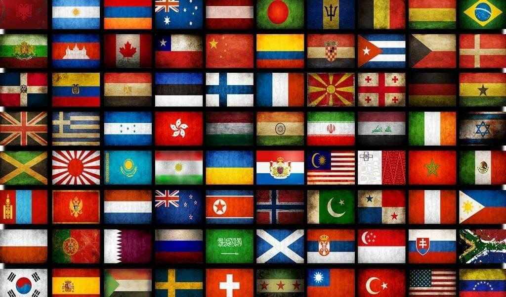 Видео тест: Узнайте флаги 12 главных туристических стран мира