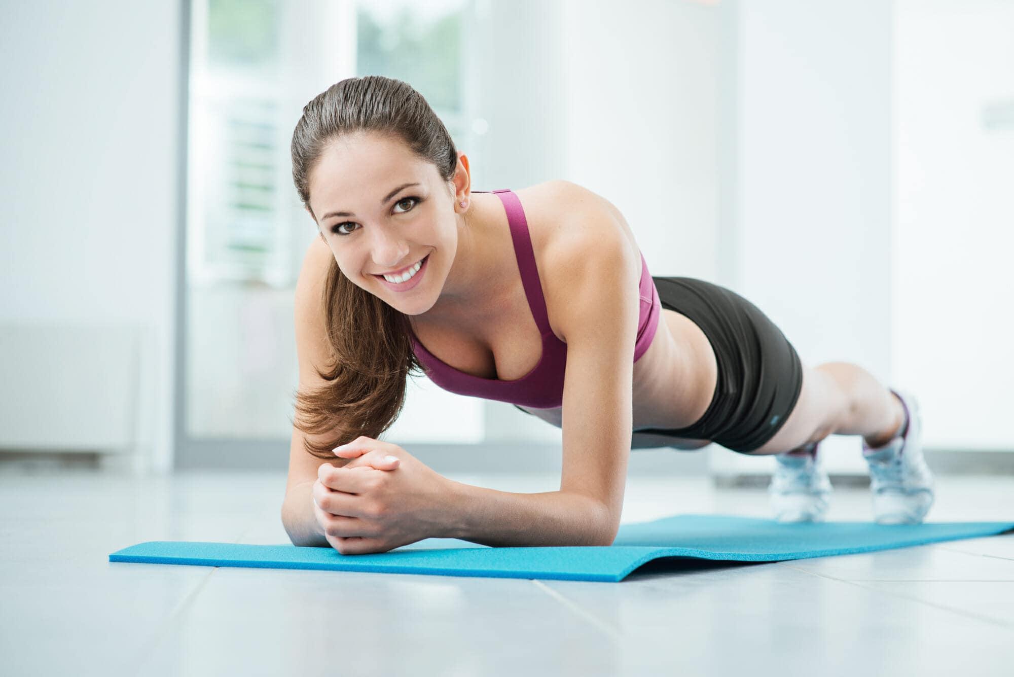 Занятие фитнесом дома смотреть