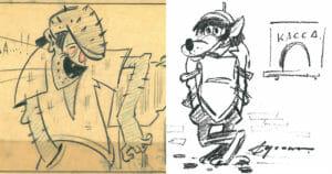 Тест: Угадайте советского мультгероя по его изначальному эскизу