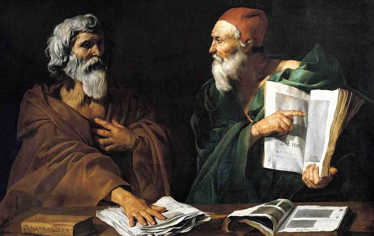 Древние философы в картинках