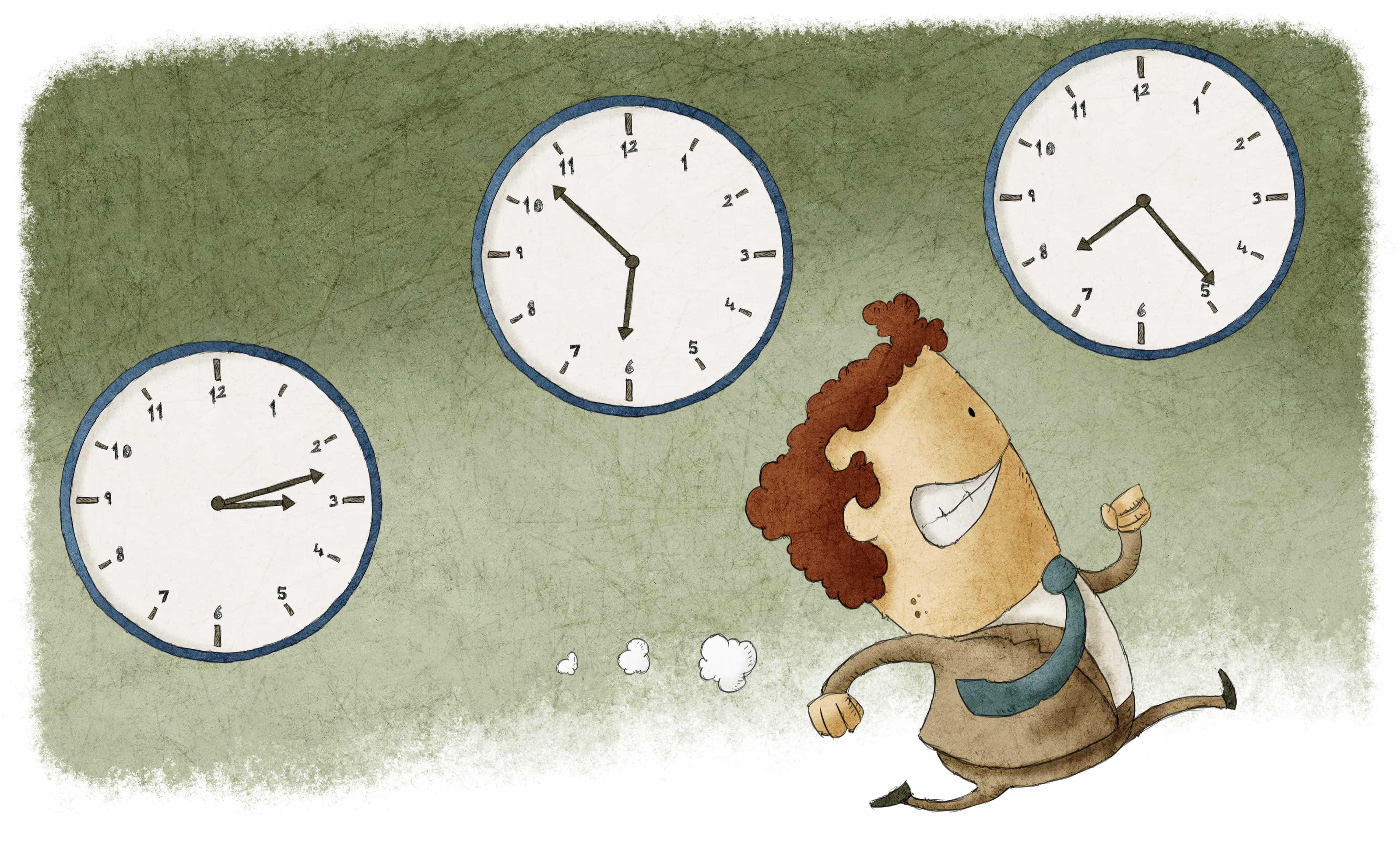 Рисунок про время