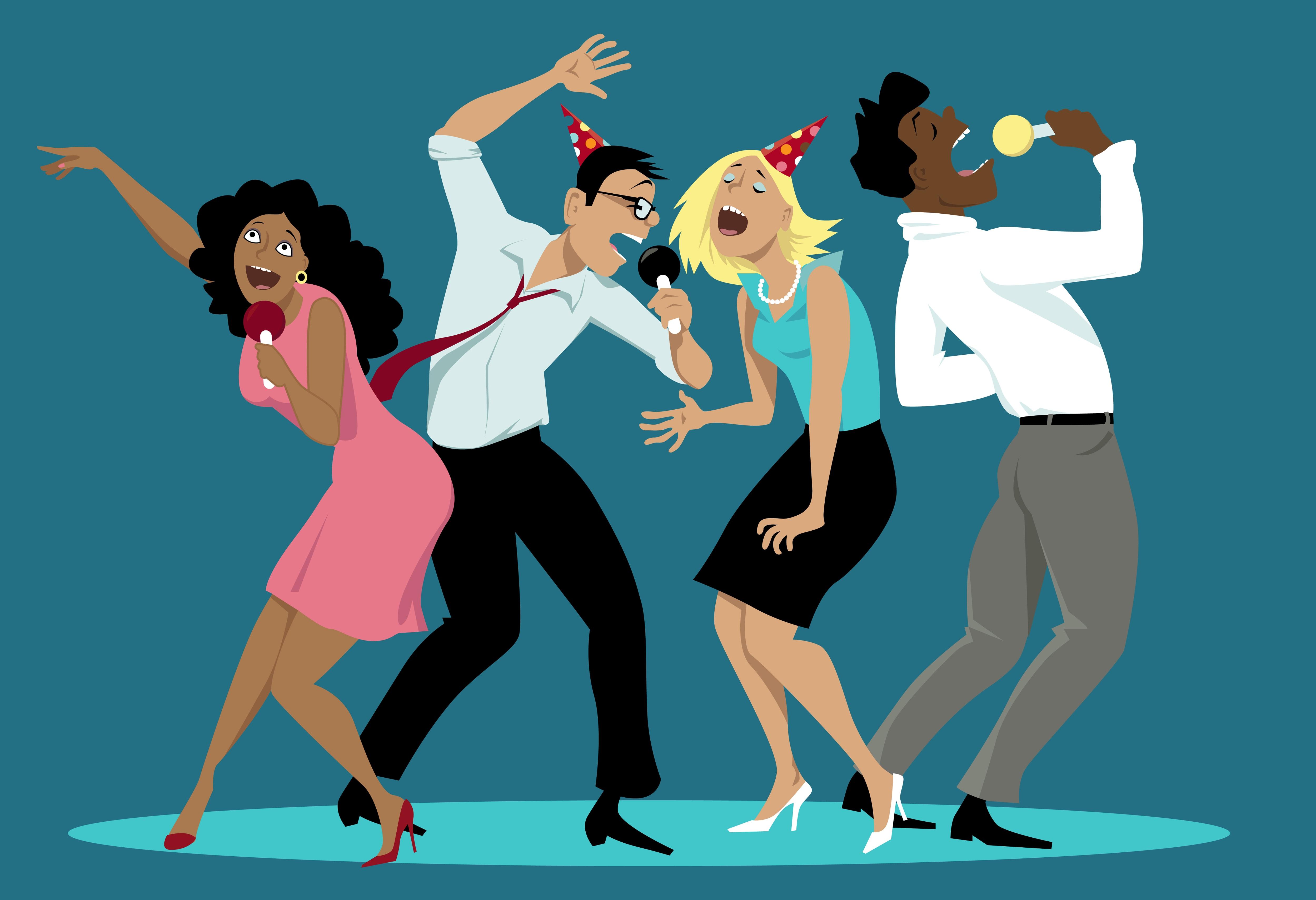 Открытки про танцы смешные, поздравляю