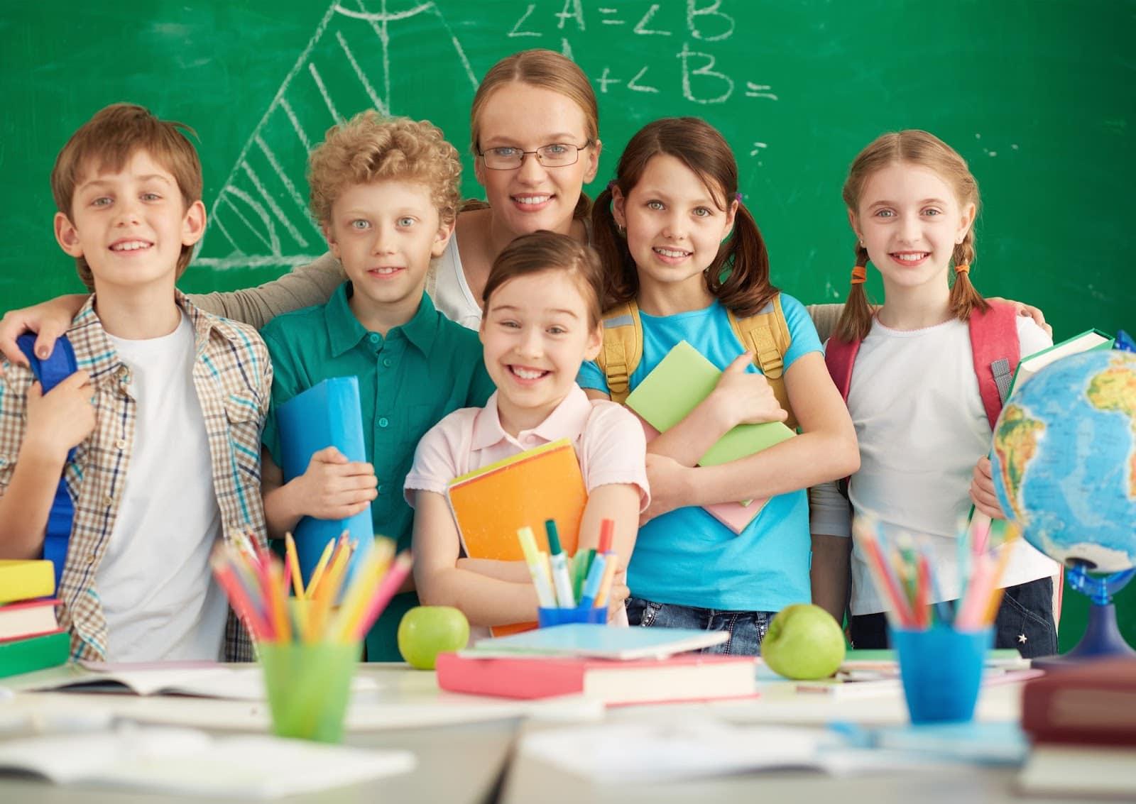 Картинка класс школьники