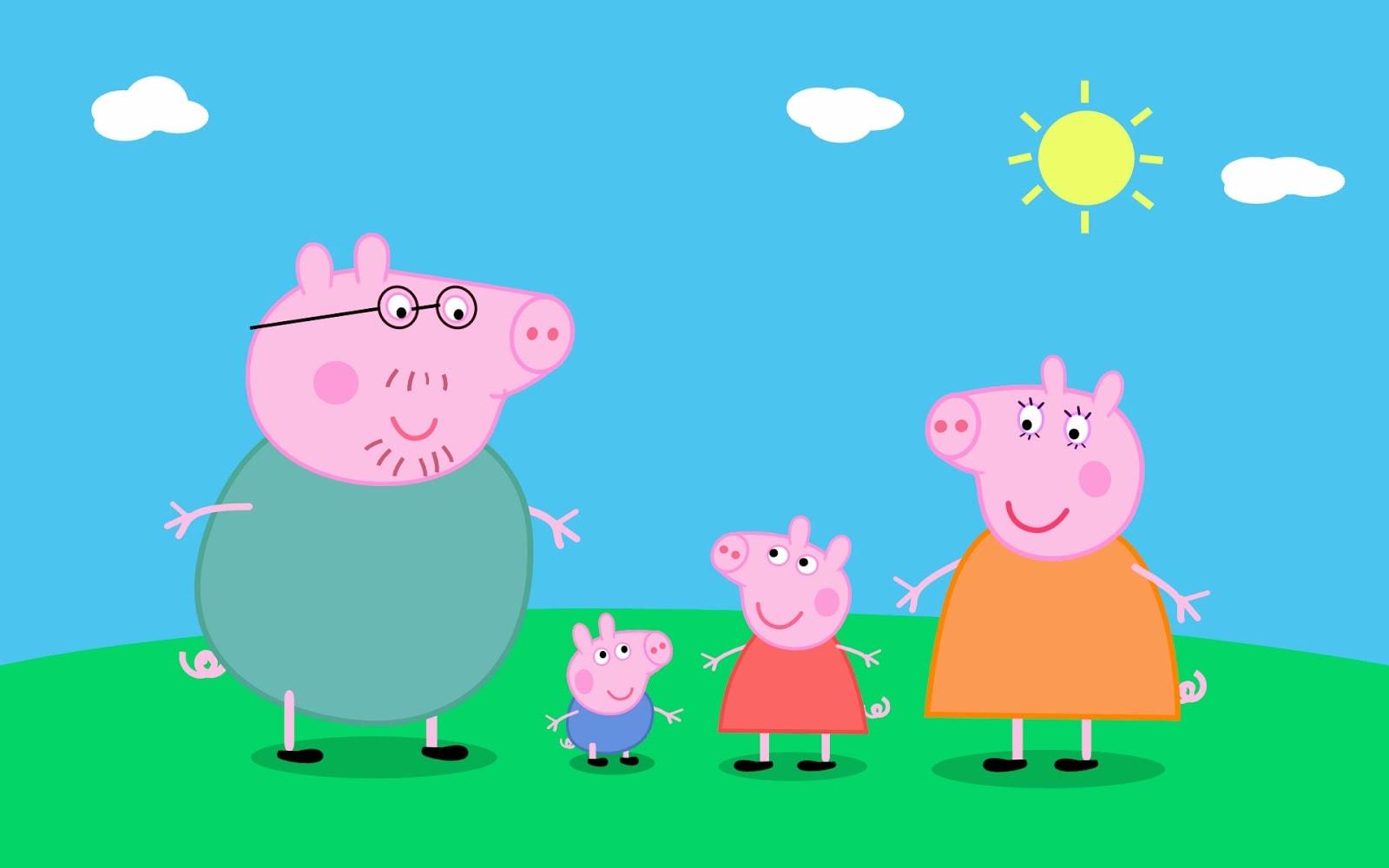Свинка пеппа картинки разные
