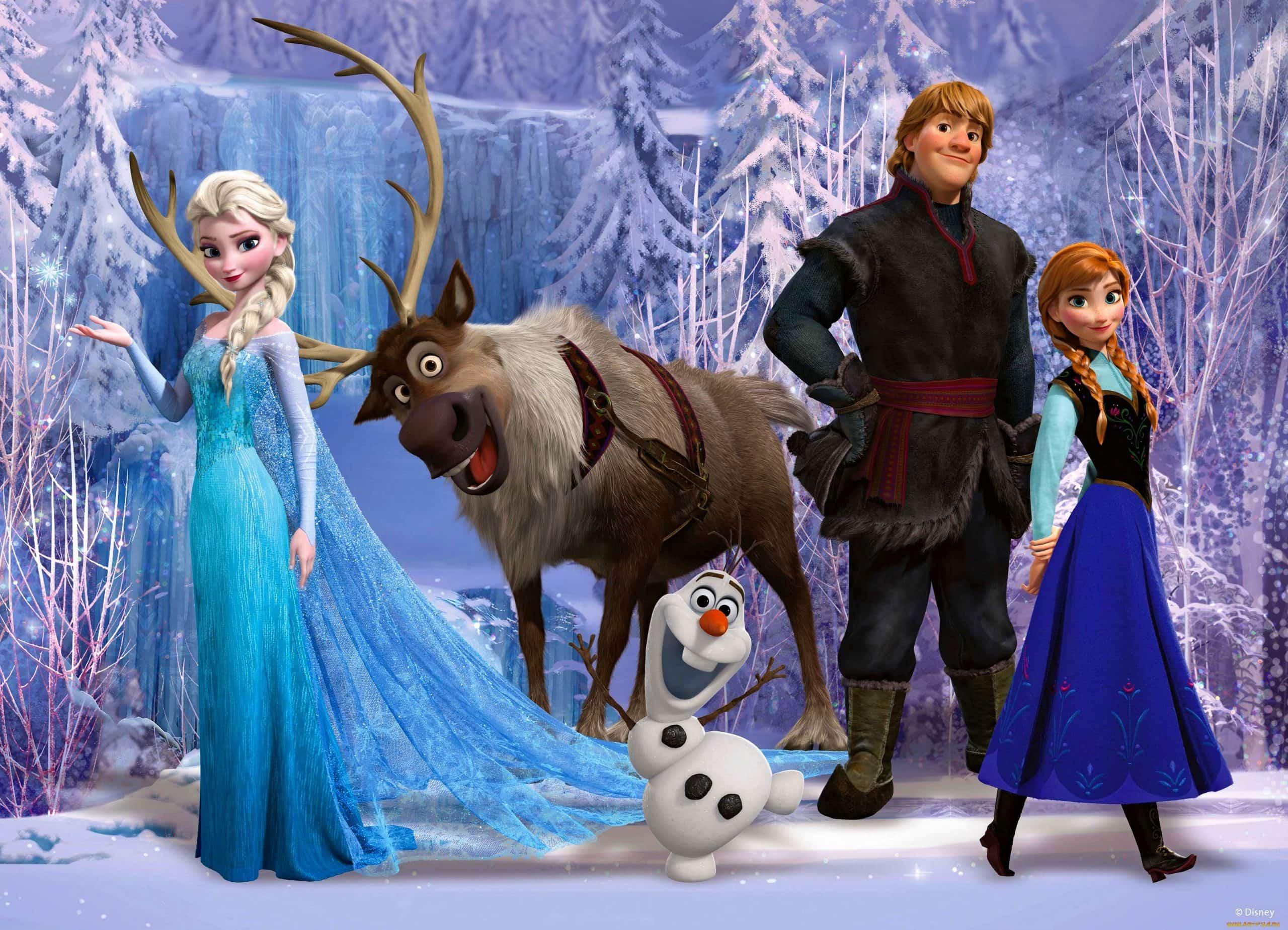 Фото всех героев из холодного сердца